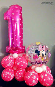 polka dot balloons and foil balloons