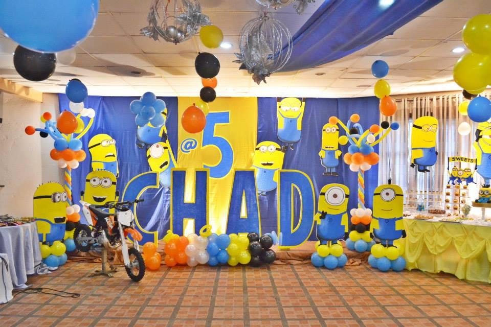 Minion Theme Birthday Organizer